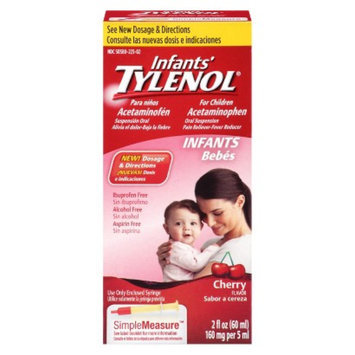 Tylenol Pain Reliever and Fever Reducer Cherry Drops for Infants - 2