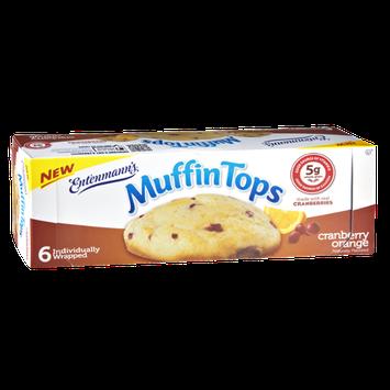Entenmann's Cranberry Orange Muffin Tops - 6 CT