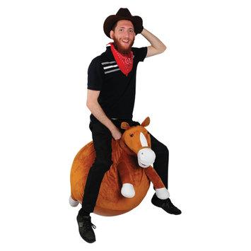 Overstock Waliki Toys Adult Plush Horse Hopper Ball