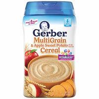 Gerber Multigrain & Apple Sweet Potato Baby Cereal