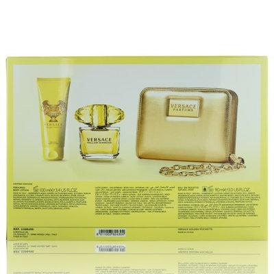 Versace Yellow Diamond 3 Piece Set-NO COLOUR-One Size