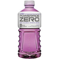 Powerade Zero Grape Sports Drink 32 Oz