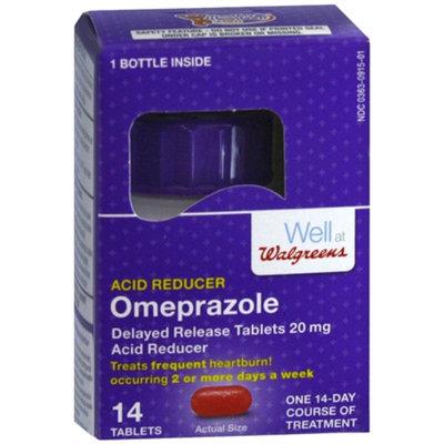 Walgreens Omeprazole Acid Reducer Tablets