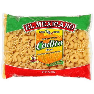 El Mexicano Elbow Enriched Macaroni Product Codito, 7 oz