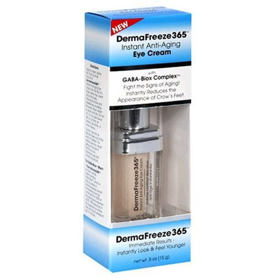 DermaFreeze365 DermaFreeze 365 Instant Anti-Aging Eye Cream, 0.5-Ounces
