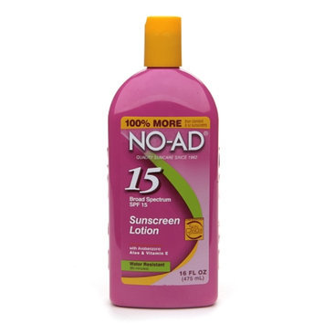 NO-AD Sunscreen Lotion