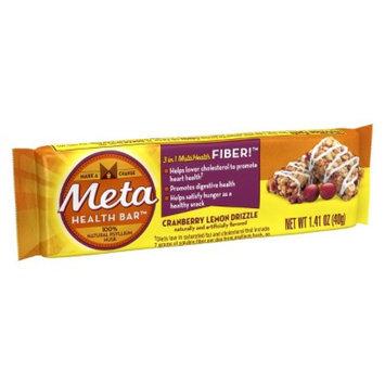 Metamucil Meta Health Bar Cranberry Lemon Drizzle - 1 Count