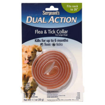 Sergeants Sergeant's Dual-Action Flea & Tick Collar for Dogs