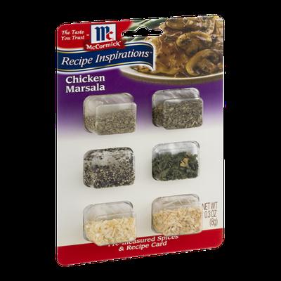 McCormick Recipe Inspirations Chicken Marsala