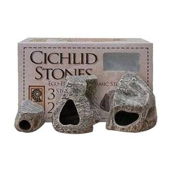 Underwater Galleries Cichlid Stone 3 Pack 6561