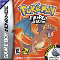 Nintendo Pokemon FireRed