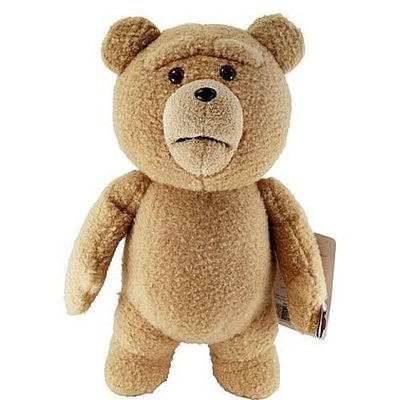 Black Bear Of The Black Forest Ted 16-Inch R-Rated Talking Plush Teddy Bear w/ Moving Mouth