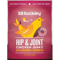 Buckley JERKY, HIP & JOINT, CHICKEN, (Pack of 6)