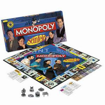 Monopoly Seinfeld Edition Ages 8 and up, 1 ea