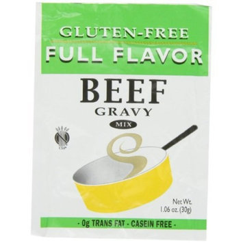Full Flavor Foods Beef Gravy, 1.06-Ounce (Pack of 6)