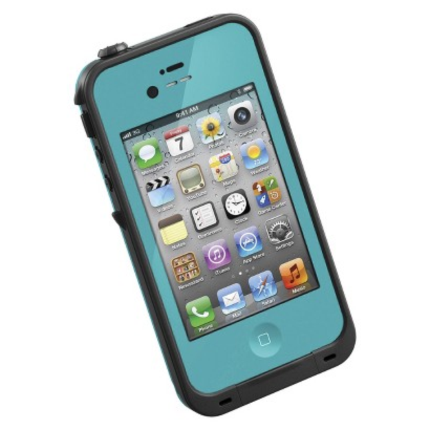 LifeProof Lifeproof Fre Cell Phone Case for iPhone 4/4S - Teal (1001-07)