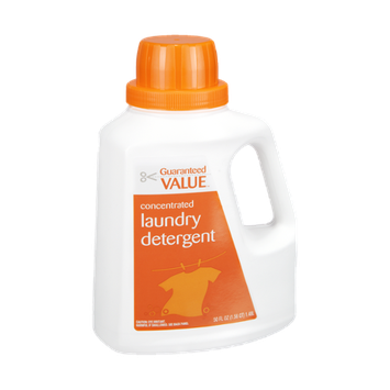 Guaranteed Value Concentrated Laundry Detergent