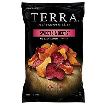 TERRA Sweets & Beets, No Salt Added, 6 Ounce (Pack of 12)