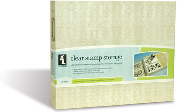 Inkadinkado Stamp Storage Binder-14.5