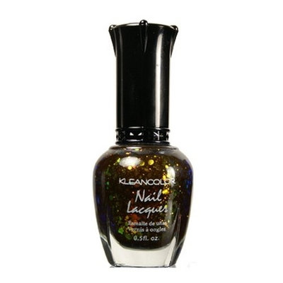 KLEANCOLOR Nail Lacquer 4 - Chunky Holo Black