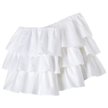 Ruffled Crib Skirt - White by Circo