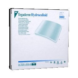 Three M Tegaderm Hydrocolloid Dressing with Outer Clear Adhesive, 4