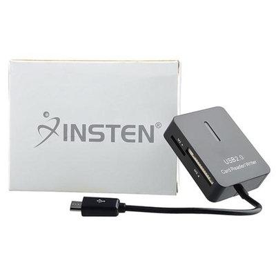 Insten INSTEN Black USB 2.0 Multi 5 in 1 Memory SD Card Reader Mini/Micro SD SDHC MMC MMC2 M2