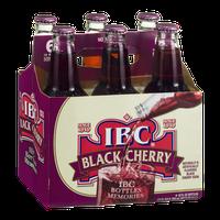 IBC Black Cherry Soda - 6 CT