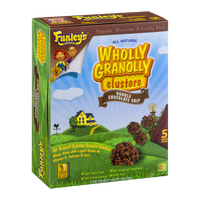 Funley's Delicious Wholly Granolly Clusters Snack Packs Double Chocolate Chip - 5 PK