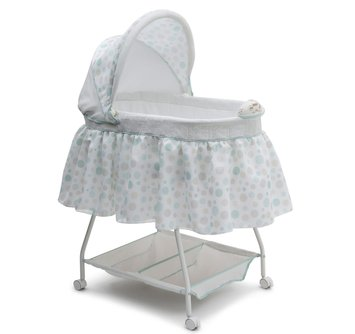 Delta Children Infant's Sweet Beginnings Bassinet Dots - DELTA ENTERPRISE CORP.