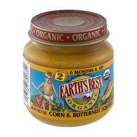 Earth's Best Organic Stage 2 Corn & Butternut Squash