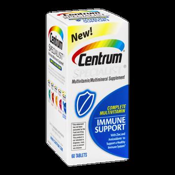 Centrum Specialist Multivitamin/Multimineral Supplement Immune Support Tablets - 60 CT