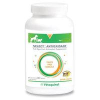 Evsco Pharmaceuticals Vetoquinol 411612 Select(TM) Antioxidant,60 ct