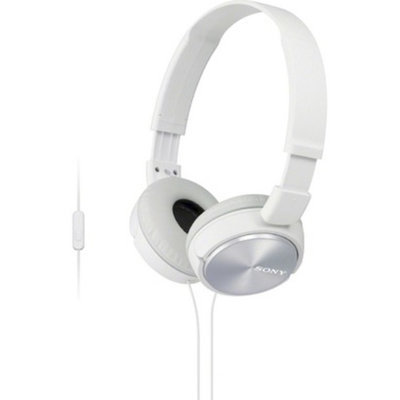 Sony On-the-Ear Headphones for Smartphones - White (MDRZX310AP/W)