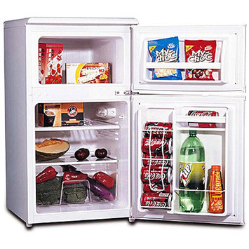 Igloo 3.2 cu. ft. 2-Door Refrigerator and Freezer