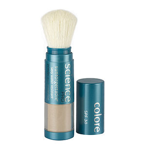Colorescience SPF 30 Brush Sunforgettable Mineral Powder Sun Protection