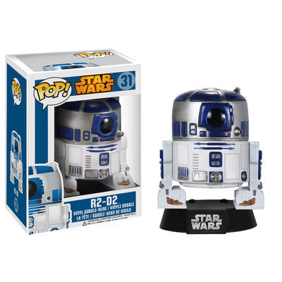 R2D2 Star Wars Funko Vinyl Pop Bobble Head Figure! - R2-D2