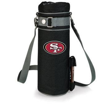 San Francisco 49ers Single Bottle Wine Sack (Black)