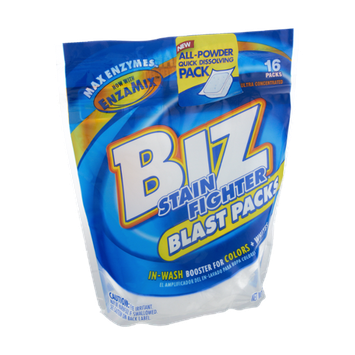 Biz Stain Fighter Blast Packs - 16 CT