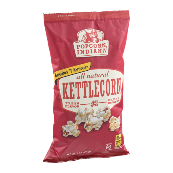 Popcorn Indiana All Natural Kettle Corn Popcorn