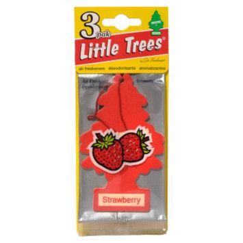 Little Trees 3-pak Strawberry Car Freshener