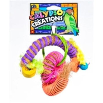 Prevue Pet Products Calypso Creations Festival Bird Toy