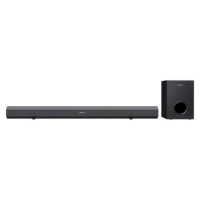Sony Bluetooth Sound Bar with Subwoofer - Black (HTCT60BT)