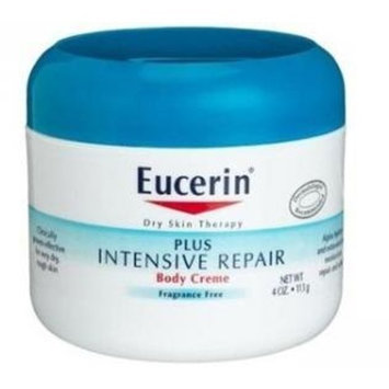 Eucerin Body Creme, Plus Intensive Repair - 4 oz