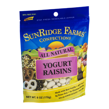SunRidge Farms Yogurt Raisins