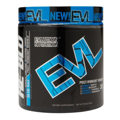 Evlution Nutrition RE-BLD Post-Workout Rebuild Blue Raz