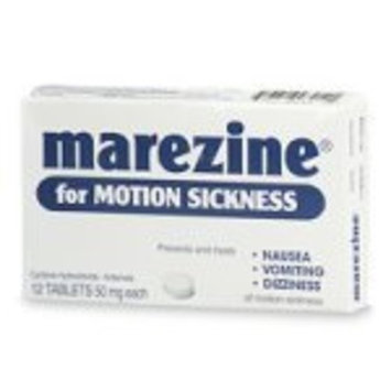 Marezine for Motion Sickness, Tablets - 12 ea