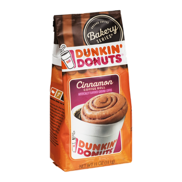 Dunkin' Donuts Ground Coffee Bakery Series Cinnamon Coffee Roll