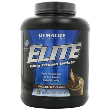 Dymatize Nutrition Elite Whey Protein Powder, Chocolate Fudge, 5.06 Pound