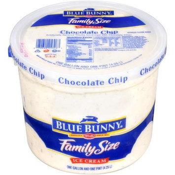 Wells' Chocolate Chip Blue Bunny Ice Cream, 1 gal